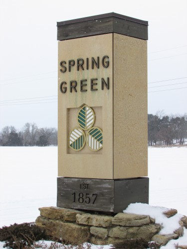 Spring Green sign