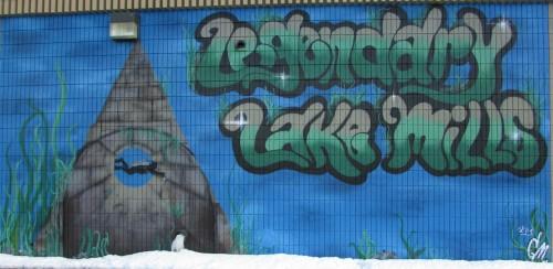 Lake Mills Mural 2013