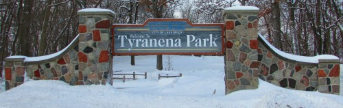 Tyranena Park entrance
