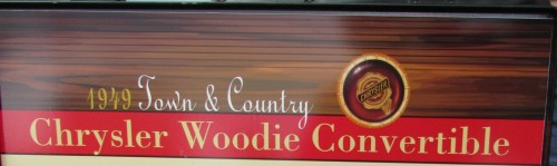 Woodie Convertible sign