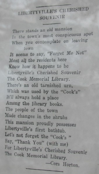Cook home poem