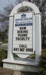 David Adler Cultural Art Center sign