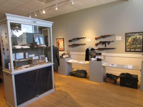 Military Room display