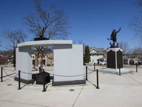 West Bend Vet's Memorial