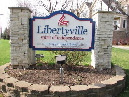 Libertyville sign