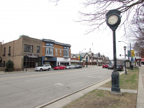 Downtown Libertyville, IL