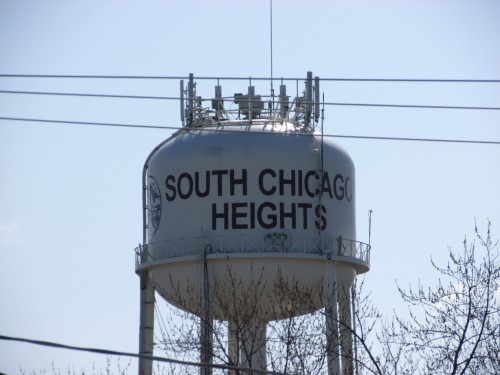 South Chicago Heights Water Tower