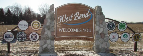 West Bend sign