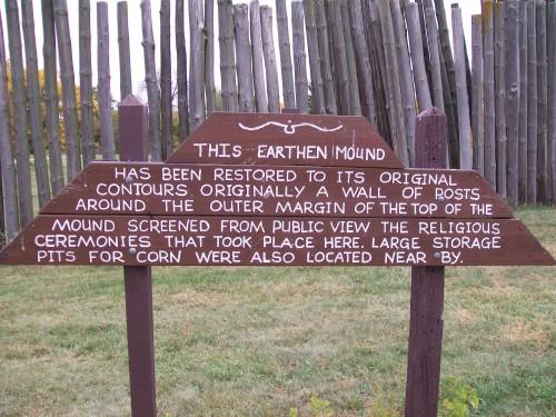 Aztalan Earthen Mound