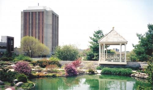 Allen Centennial Gardens pond