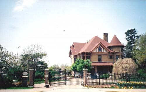 Allan Centennial Gardens building