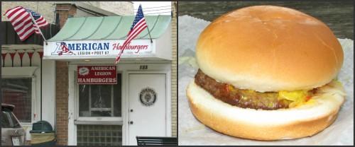 American Legion Burger Stand