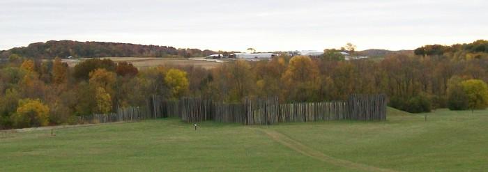 Aztalan stockade