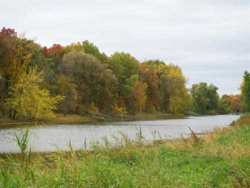 Crawfish River in autumn