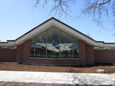 Park Forest Library windows