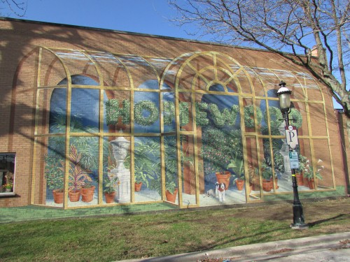 Richard Haas Homewood Mural