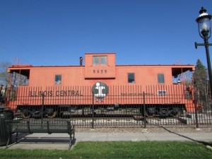 Illinois Central Caboose