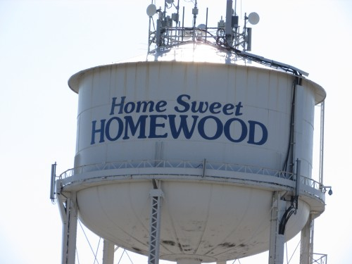 Homewood Water tower