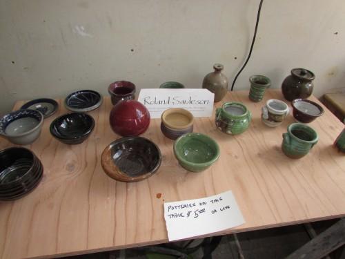 Roland Sardeson pottery