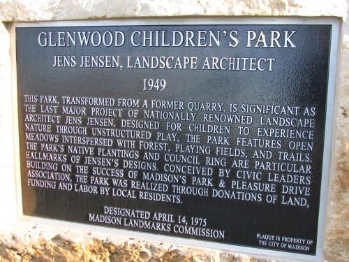 Park plaque 1