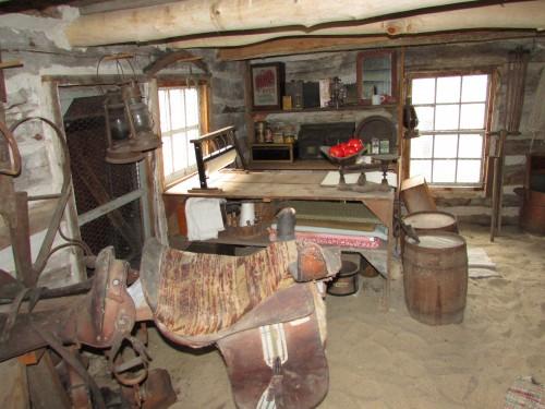 Bornell Cabin inside