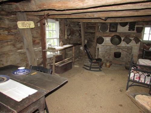 Pettey cabin inside