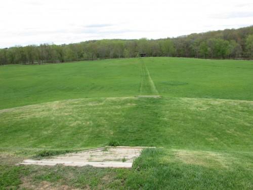 Aztalan Earthen Mound view