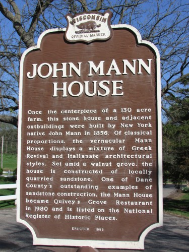 Quivey's Grove -John Mann House
