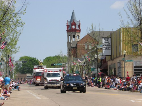 Syttende Mai parade Stoughton