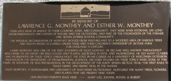 Monthey plaque Fitchburg