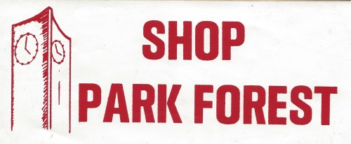 Shop Park Forest sign