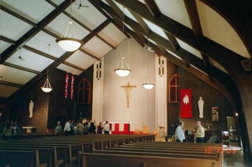 St. Irenaeus inside 2003