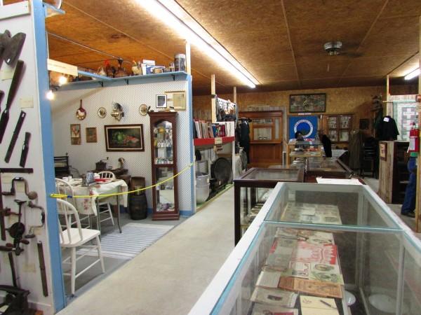 Hillsboro Museum inside