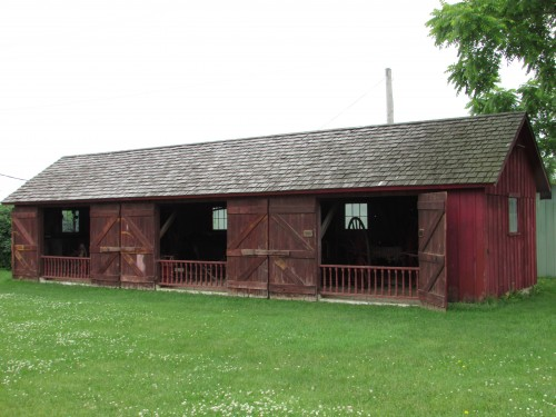 Carriage Barn at Milton House