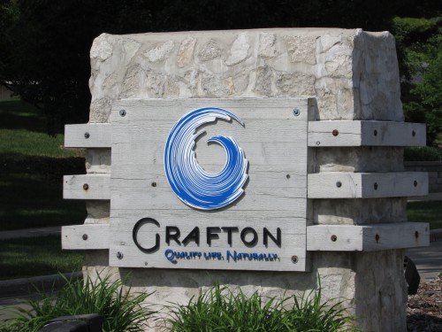 Grafton sign