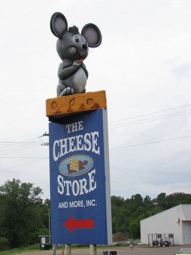 Cheese Store sign Hillsboro