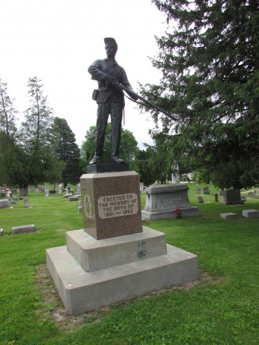 Civil War Memorial in Hillsboro
