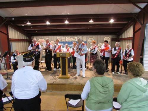 Service at Cesky Den Festival