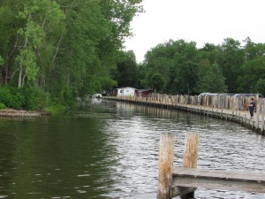 Lake Winneconne Park canal