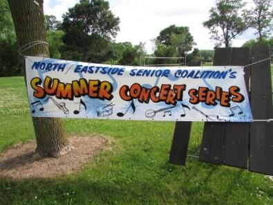 Warner Park Summer Concert Banner