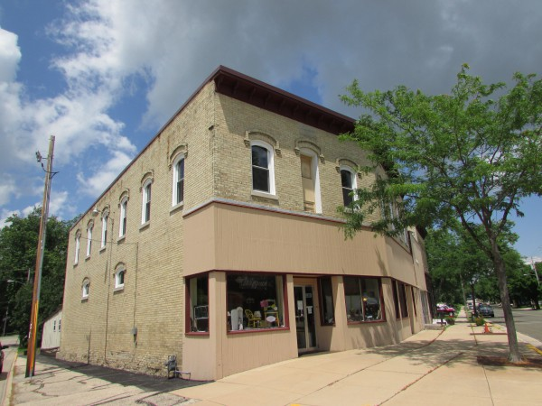 O.S. Olson Building 1897 in McFarland