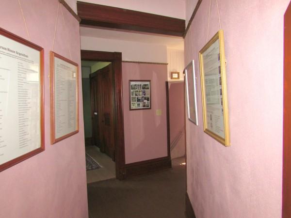 Larson House hallway