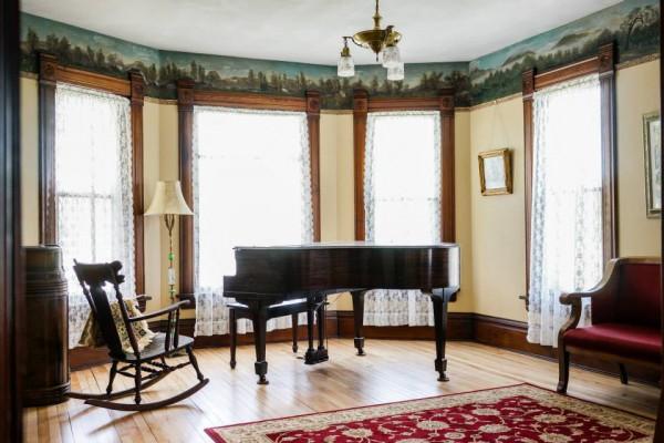 Larson House Living Room