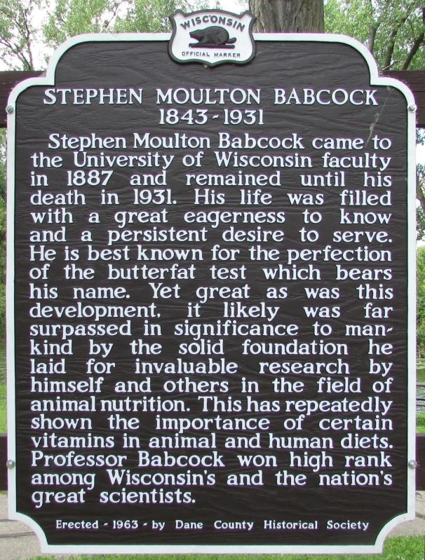 Stephen Babcock marker