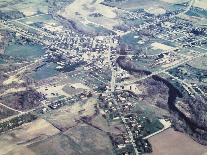 Valders aerial photo