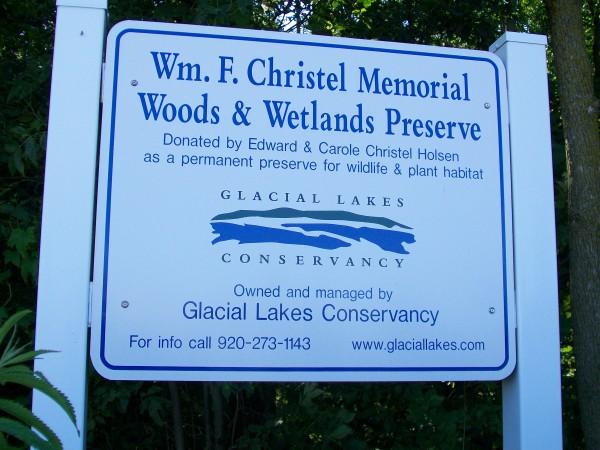 William F. Cristal Memorial Woods and Wetland Preserve