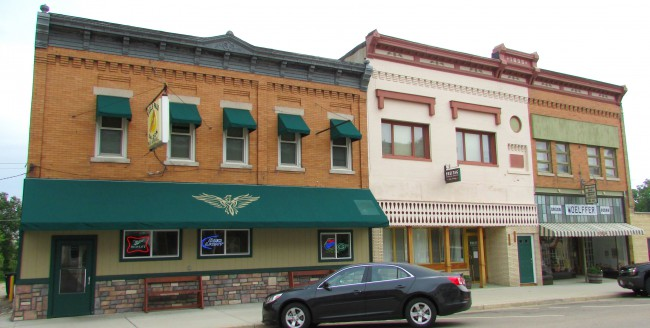 Eagle Pass Saloon and Woeffler Historical Museum