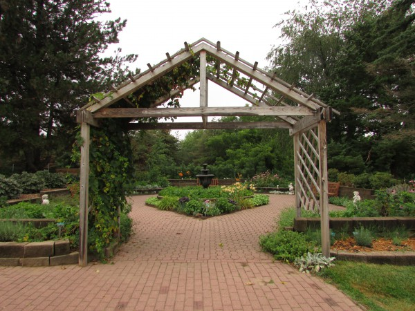 English Garden in Dubuque