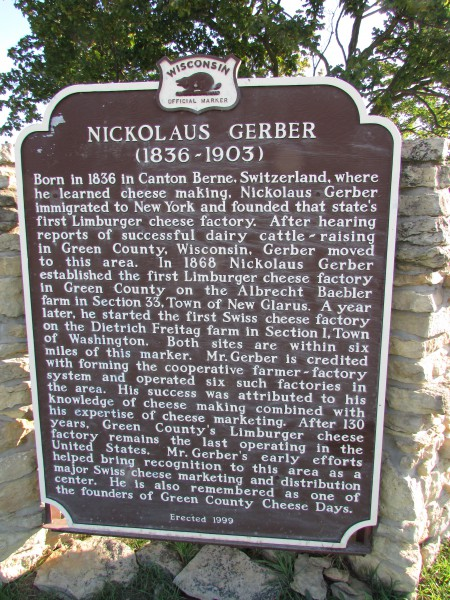 Nickolaus Gerber Marker in Monticello
