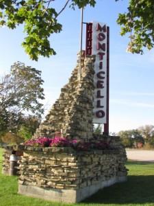 Monticello Monument